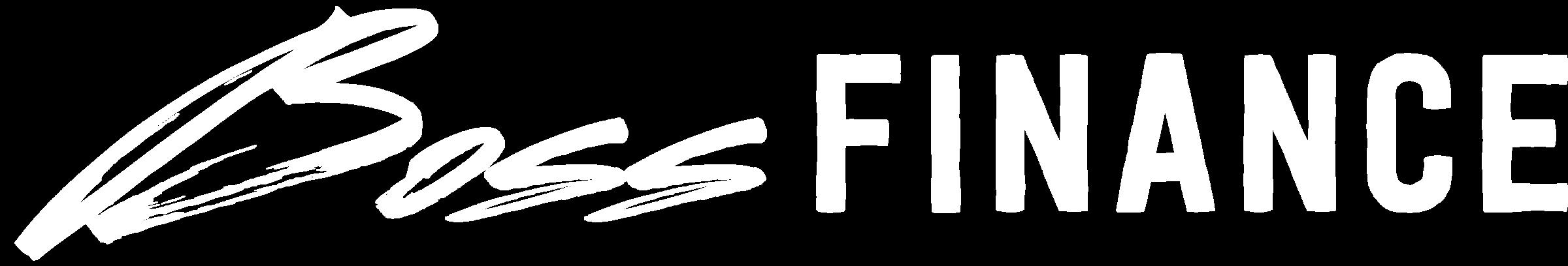 Boss Finance Logo White